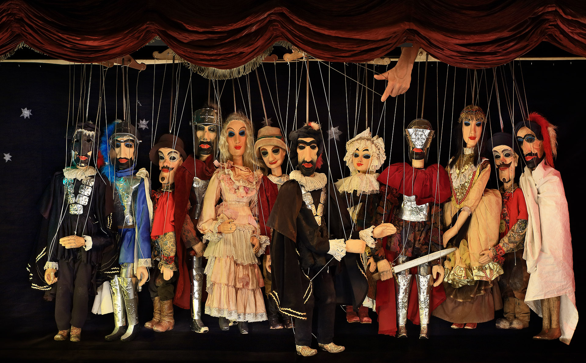 W. A. Mozart: Magic Flute - Marionette - in German 02.05.2019